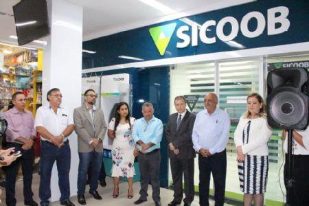 Sicoob União amplia agência no Shopping Popular