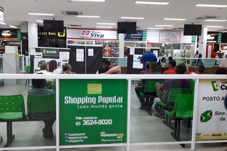 O SINE no Shopping Popular oferece cerca de 85 vagas de emprego para esta semana.