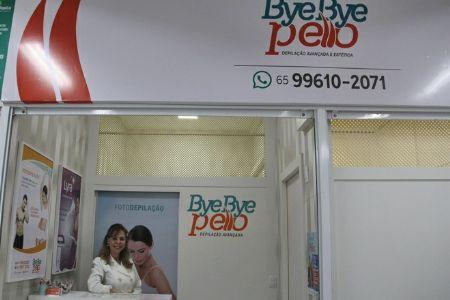Bye Bye Pello oferece depilação indolor está e conquistando clientes no Shopping Popular