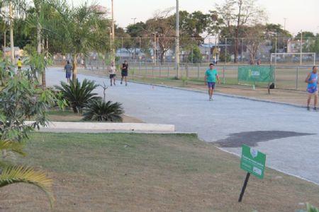 Complexo Dom Aquino é um dos melhores pontos esportivo gratuito da capital