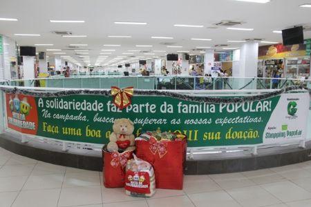 Faça parte do Natal da Solidariedade no Shopping Popular