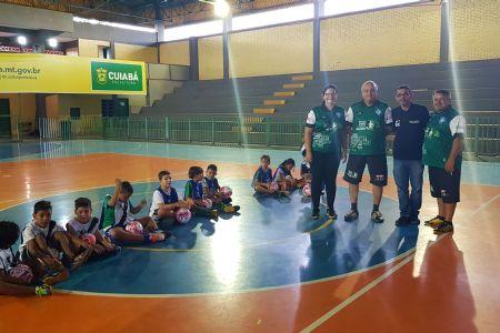 Projeto social incentiva a formação de novos atletas em Cuiabá