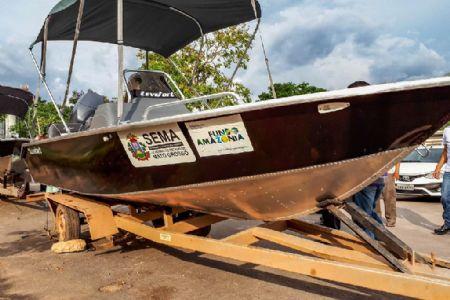 Lanchas de alta potência auxiliarão na fiscalização de pesca