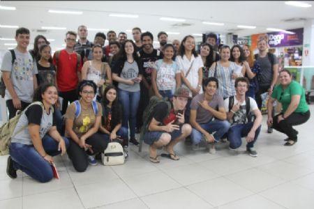 Alunos da UFMT visitam o maior Centro de Compras de Mato Grosso