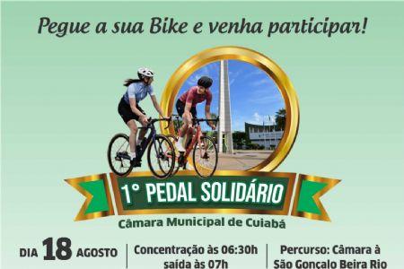 Inscrições abertas para o Pedal Solidário do Legislativo