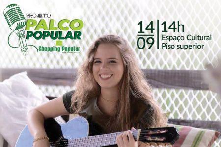 Shopping Popular terá show sertanejo de Liandra Polinski no dia 14 de setembro