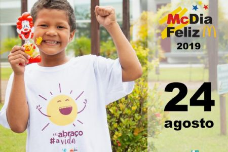 Shopping Popular apoia  a Campanha Mc Dia Feliz