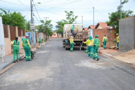 Mutirão da Limpeza atende moradores do bairro Canjica neste sábado