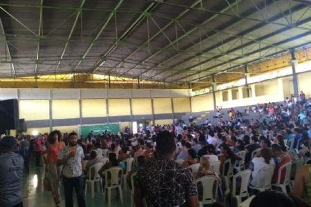 O Complexo Dom Aquino foi palco do sorteio de casas para o Nico Baracat II