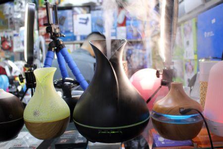 Tempo seco e baixa umidade do ar fazem aumentar vendas de umidificadores no Shopping Popular
