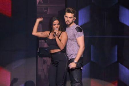 Anitta e cantor de sertanejo Gustavo Mioto se apresentam juntos em Cuiabá