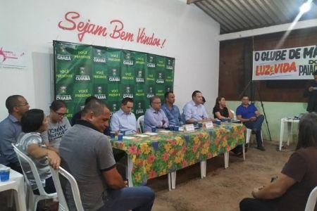 Em audiência pública vereadores expõe empenho em levar asfalto para o bairro Paiaguás e região