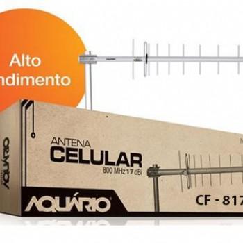 Antena Celular RURAL  800mhz 17db