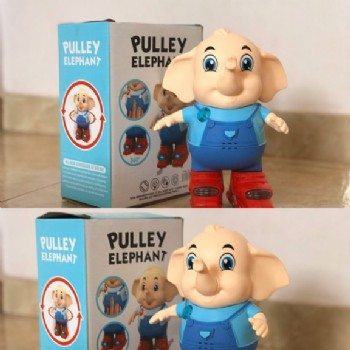 PULLEY ELEPHANT A PILHA