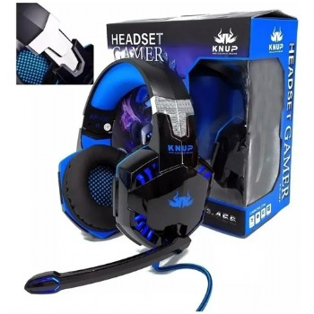 Headset Gamer KP-455A - Knup